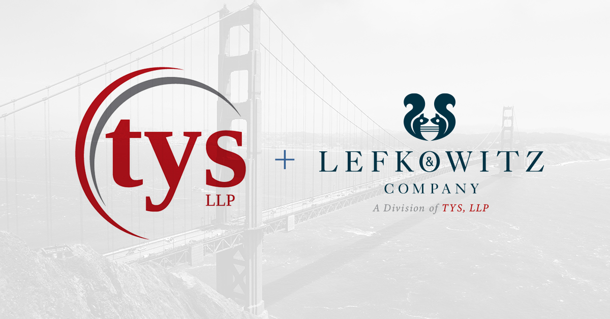 TYS, LLP Annouces a merger with Lefkowitz & Company LLP