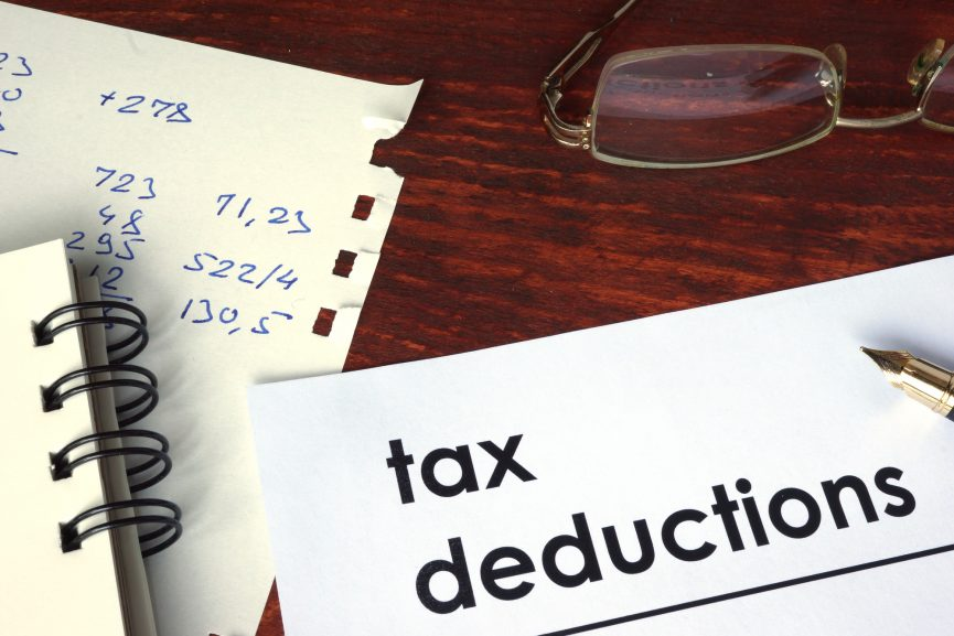 Tax deductions and getting ready for tax season